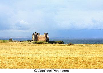 Tantallon Castle, West Lothians, Scotland