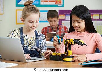 tanulás, feladat, robotika, szembogár, tudomány
