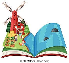 tanya, könyv, színhely, váratlanul