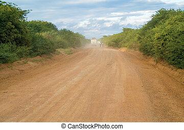 tanzánia, út