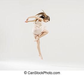tanz, ballettänzer, kunst, durchgeführt