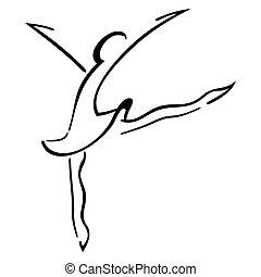 Tanz,  symbol