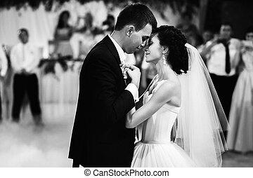 tanz, zuerst, wedding