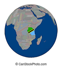 tanzania, politico, globo