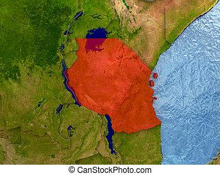 tanzania, rosso