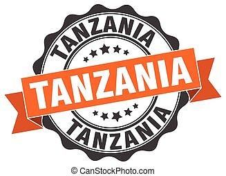 Tanzania round ribbon seal