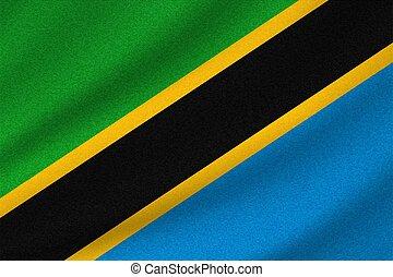 tanzanie, drapeau national