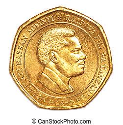 tanzanien, monnaie, 50, shilling