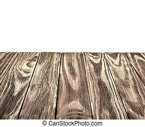 tapa de madera, aislado, plano de fondo, tabla, blanco, ...