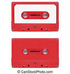 Tape cassette - Magnetic tape cassette for audio music...