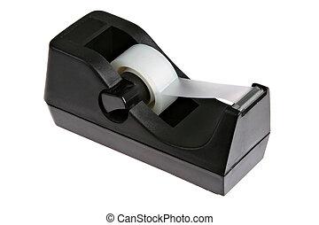 Tape Dispenser - Trasparent Tape Dispenser Isolated