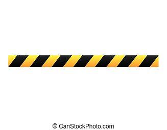 tape dont cross precaution - tape dont cross security...