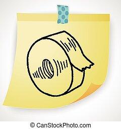 tape doodle