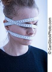 tape-measure, femmina