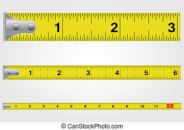 Tape Measure Illustration
