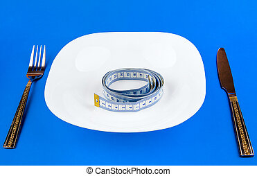 Tape Measure in the Plate