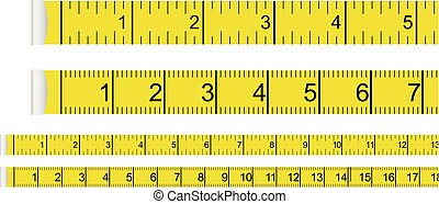 Tape measure presets - centimeter with inches and...