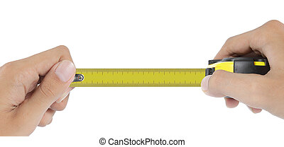 tape measure without number or blank