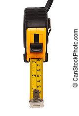 Tape measure - Yellow steel tape measure. Repair and...