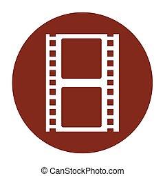 tape record film icon
