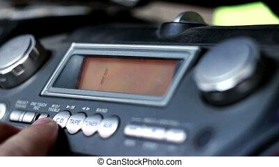 tape recorder