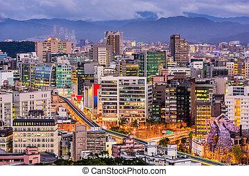 tapei, taiwan, cityscape