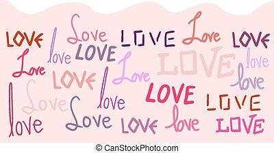 tapeta, miłość
