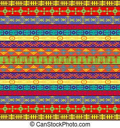 tapete, colorido, ornamentos, étnico