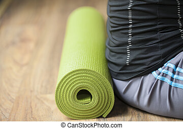 tapete, ioga