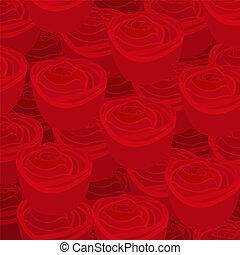 hintergrund rosen schwarz rot muster rosen muster vektor clipart suchen sie. Black Bedroom Furniture Sets. Home Design Ideas