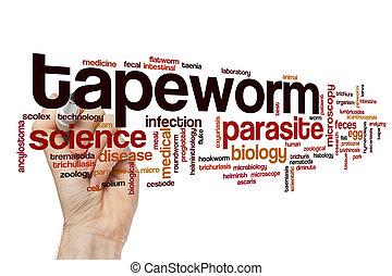 Tapeworm word cloud