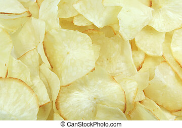 Tapioca Chips, a popular asian snack replacement for potato ...