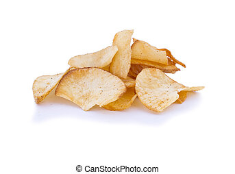 Tapioca Chips or Cassava chips.
