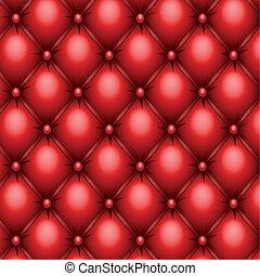 tapisserie ameublement, rouges, texture