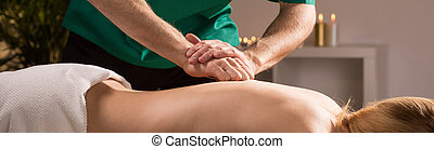 Tapping technique in massage