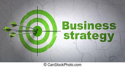 tarcza, handlowy, ściana, strategia, tło, concept: