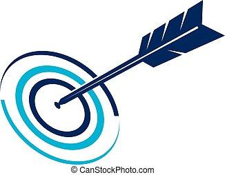 tarcza, handlowy, wektor, projektować, szablon, logo