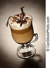 tarde, café, chocolate