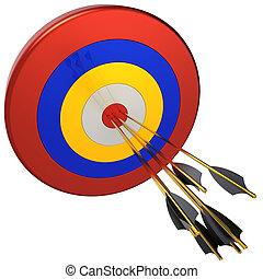 target., 概念, 矢, 狙撃兵