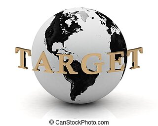 TARGET abstraction inscription around earth