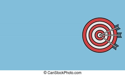Target and dartboard HD - Arrows to dartboard target symbol...