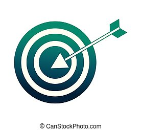 target arrow success icon