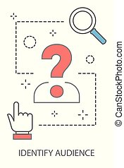 Target audience concept illustration