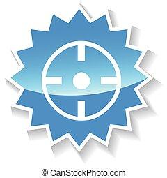 Target blue icon