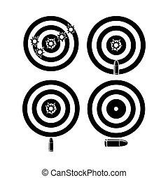 target bullet vector designs