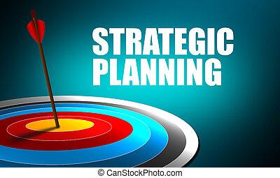 target., dard, succès, planification, stratégique, centre, exactement, flèche, concept