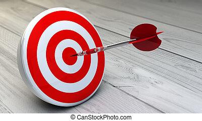 target dart red