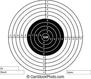 target for pneumatic shooting
