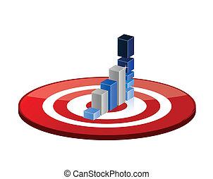 target good profits illustration design