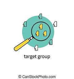 Target group audience